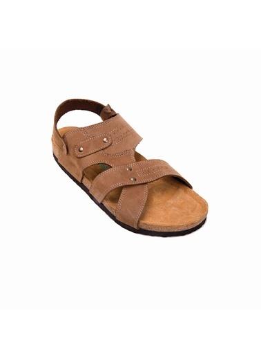 Comfortfusse Sandalet Camel